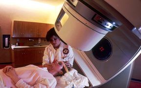 Preparation for radiotherapy
