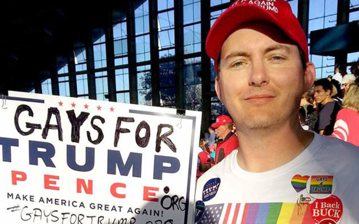 Peter Boykin, founder and president of Gays for Trump