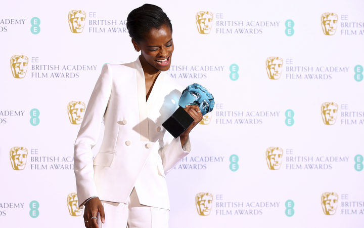Letitia Wright won the Rising Star award for her role in Black Panther.