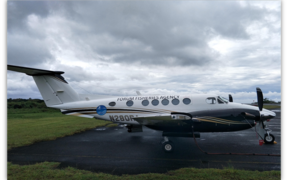 Two King Air planes (one of which is pictured) will provide 1,400 hours of aerial fisheries surveillance to the 15 Forum Fisheries Agency island members. The planes are being funded by Australia as part of stepped up surveillance and monitoring in the region.