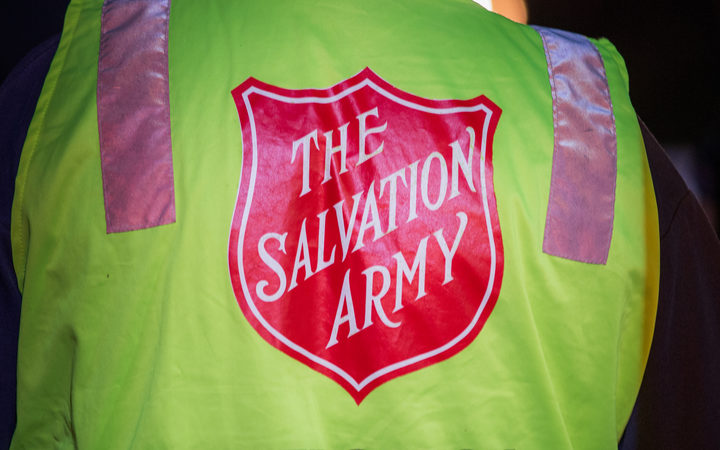 The Salvation Army was set up offering food and drink to emergency serivces.
