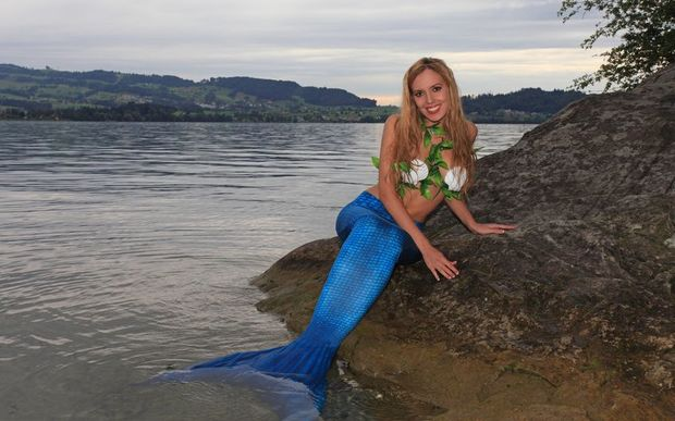 Mermaid tails have gained in popularity.