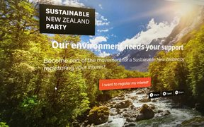 Vernon Tava's Sustainable New Zealand Party website.