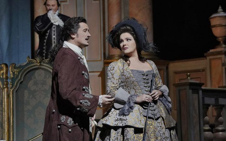 Piotr Beczala As Maurizio And Anna Netrebko Adriana