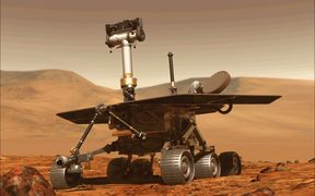 Nasa's Opportunity rover was designed to last only three months.