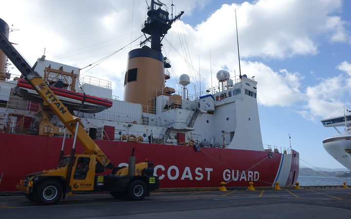US Coast Guard cutter Polar Star.
