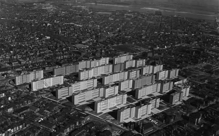 Pruitt-Igoe in St Louis.