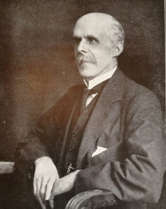 Organist and composer, Alfred Hollins