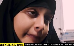 'Isis bride' Shamima Begum talks to Sky News.