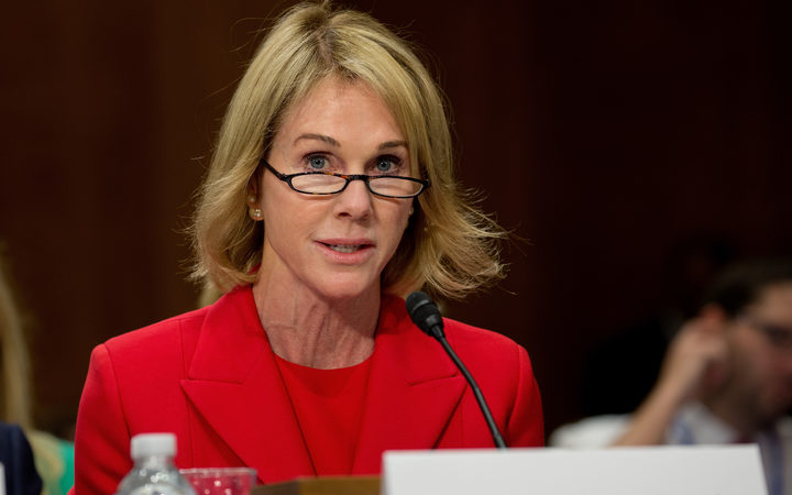 Kelly Knight Craft, US Ambassador to Canada and nominee for envoy to the UN.