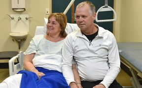 "Brenda and Doug Weening are counting their blessings after a ""traumatic'' jet-boat accident in the Skippers Canyon on Saturday."