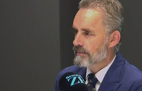 Dr Jordan Peterson in an interview with TVNZ Breakfast host Mike Hosking