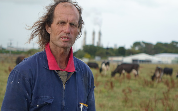 Darryl Smith's family has farmed at Kapuni since 1881. He says the buffer zones represent theft by stealth.