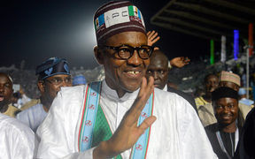 All Progressives Congress (APC) presidential aspirant Muhammadu Buhari - pictured in Lagos, Nigeria in 2014.