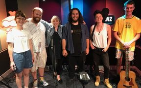 The Undercuts at RNZ to make up a song in 20 minutes