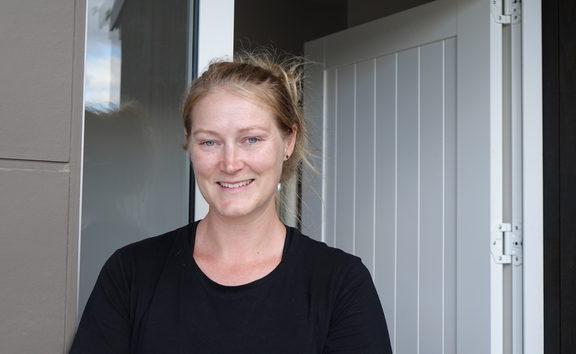 Renee Hystek and her partner bought their first home through KiwiBuild.