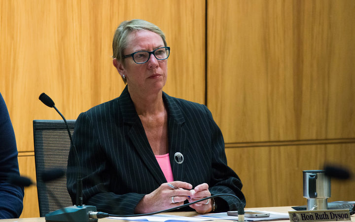 Labour MP for port Hills Ruth Dyson chairs an inquiry on captioning.