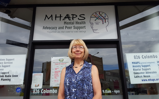 Mental Health Advocacy and Peer Support general manager Sue Ricketts