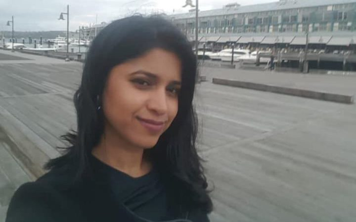 Preethi Reddy pictured at Woolloomooloo, in central Sydney