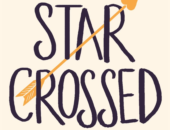 "cover of the book ""Star-crossed""  by Minnie Darke"