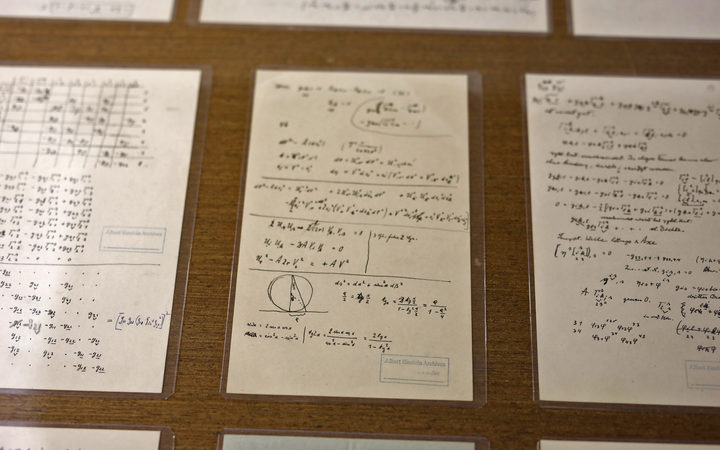 Hebrew University adds new manuscripts to Albert Einstein archive