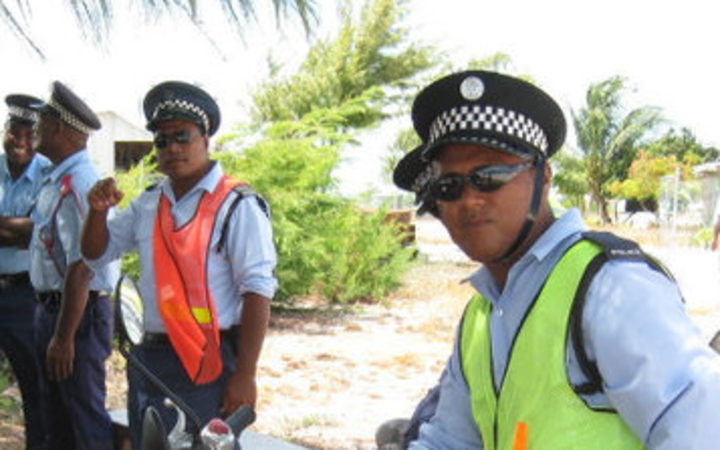 Man held after mother and child killed in Kiribati