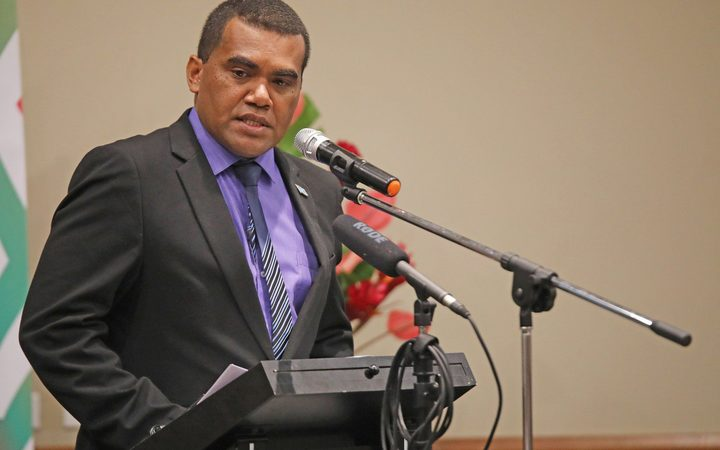 Fiji's Assistant Minister for Youth, Alipate Nagata