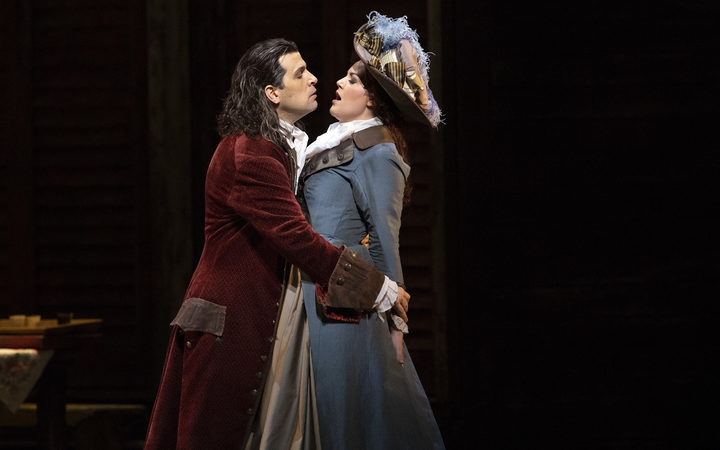 Luca Pisaroni as Don Giovanni and Federica Lombardi as Donna Elvira