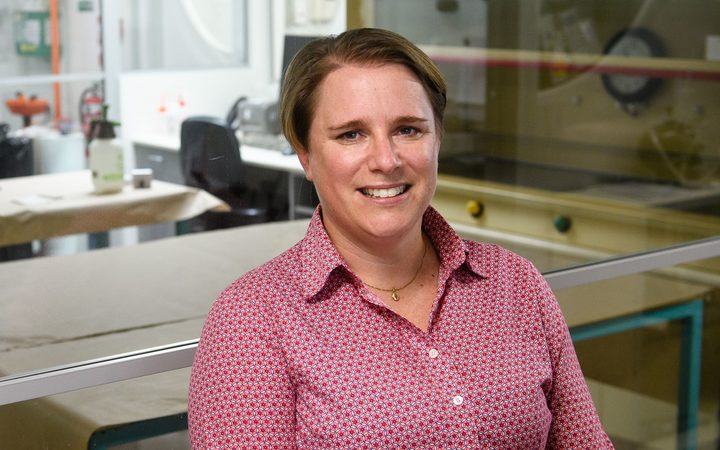 Dr Jo Bright leads the STRmix team at ESR, whose crime-busting software has won the 2018 Prime Minister's Science Prize.