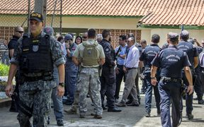 Police say the motive for the shooting at the Brazilian school is so far unclear.