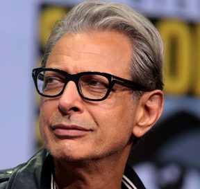 Jeff Goldblum speaking at the 2017 San Diego Comic-Con International in San Diego, California.