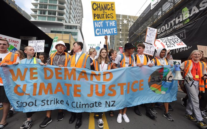 Climate change protests spread on global day of action