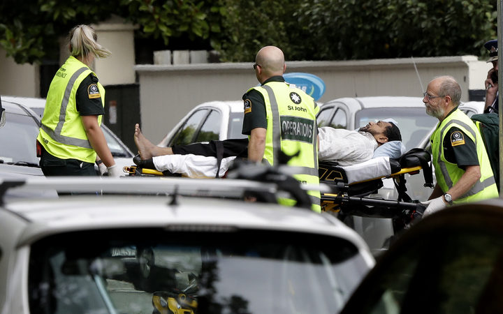 Christchurch shooting: 300 people inside mosque - witness