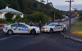 A cordon remains in place at Sommerville Street in Dunedin in connection to the Churchchurch terror attack.