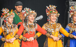 Taiwu Ancient Ballads Troupe at WOMAD 2019