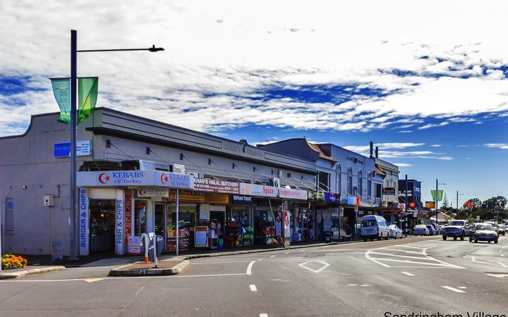 Sandringham Road shops