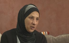 Hanan Al Adem, whose husband, Dr Amjad Hamid, died in the Christchurch terror attack.