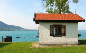 Gustav Mahler's composer's lodge in Steinbach, Attersee