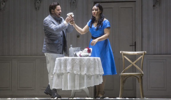 Matthew Polenzani as Vaudémont and Sonya Yoncheva as Iolanta