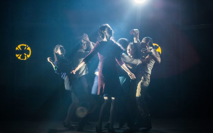 The Dreamer is told through physical theatre, dance and music