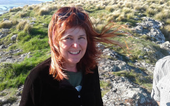 Christchurch writer and poet Gail Ingram