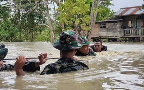 Flooding in Papua, March 2019
