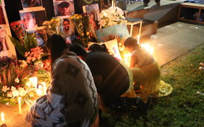 A public vigil held for Christchurch mosque shooting victims in Mangere South Auckland.