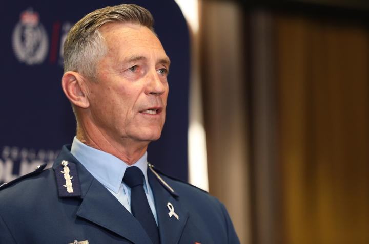 Commissioner Mike Bush says the use of armed units is a standard feature in many parts of the world.Photo/RNZ/Ana Tovey