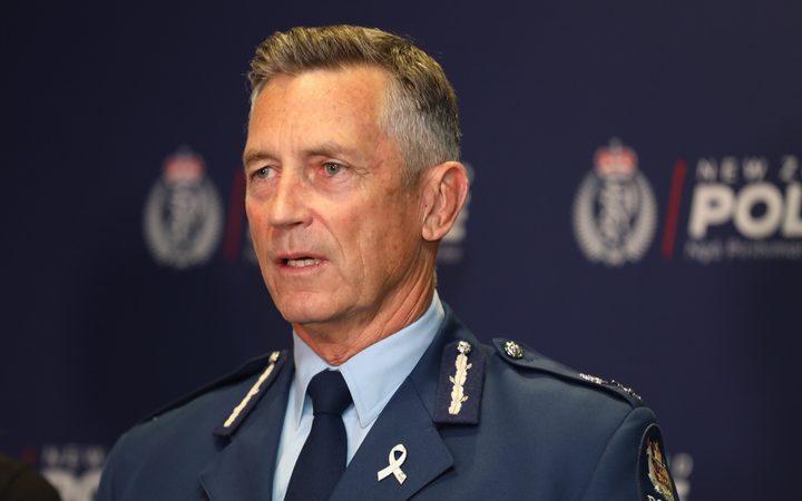 Police Commissioner Mike Bush