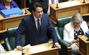 Leader of the Opposition, Simon Bridges asking a question of the Prime Minister