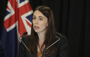 Jacinda Ardern at Post Cab.