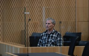 Paul Tainui, also known as Paul Wilson, in court.