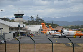 Air Caledonie aircraft at Noumea's Magenta Airport