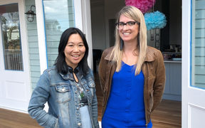 Renee Liang and Michele Powles